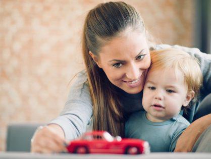 Kind und Führerschein